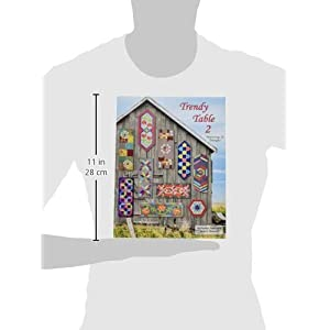Anka's Treasures ANK327 Trendy Table 2 Book Featuring 15 Designs By Heather Peterson