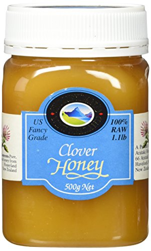 Pacific Resources Raw Clover Honey, 500g