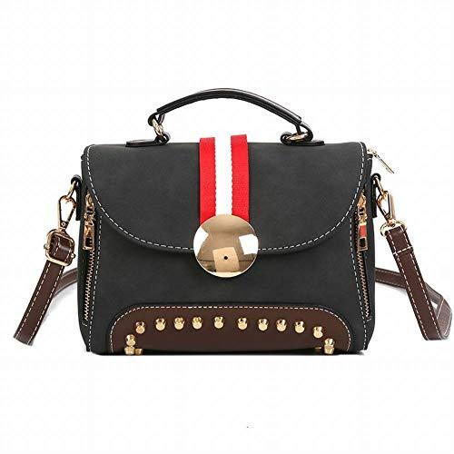 Fashion All Multifunzionale le donna Scrub Vintage per marrone marrone donne personale borsa borsa da donna Match diagonale spalla Creative da 1Awq1