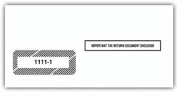 EGP IRS Approved 1099 Tax Form Envelope, 5000 envelopes