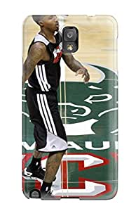 High-quality Durable Protection Case For Galaxy Note 3(milwaukee Bucks Nba Basketball (21) )