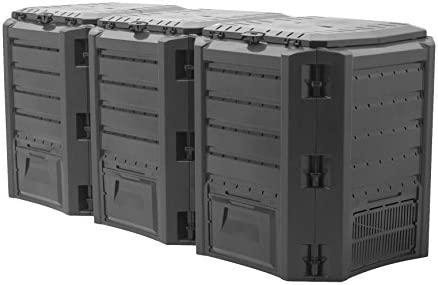 Conexus 2030672 - Conversor de residuos orgánicos, 1200 l, Color ...