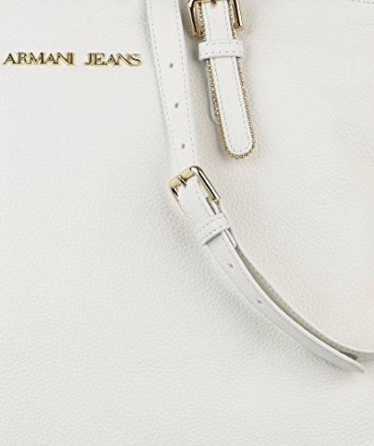 Armani Jeans, Borsa tote donna Bianco bianco