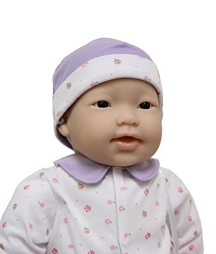 41AZ%2Bbx3 uL - JC Toys, Asian La Baby 20-inch Soft Body Pink Play Doll - For Children 2 Years Or Older, Designed by Berenguer
