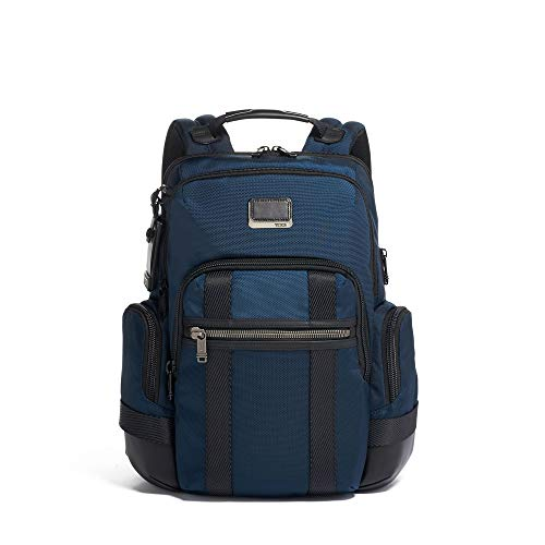TUMI - Alpha Bravo Nathan Laptop Backpack - 15 Inch Computer Bag for Men and Women - Navy best to buy
