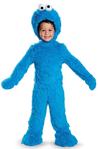 Cookie Monster Extra Deluxe Plush Costume, Small -
