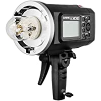 Godox Witstro AD600B Bowens Mount 600Ws TTL High Speed Sync Outdoor Flash Strobe Light with 8700mAh Battery Provide 500 Full Power Flashes Recycle in 0.01-2.5 Second