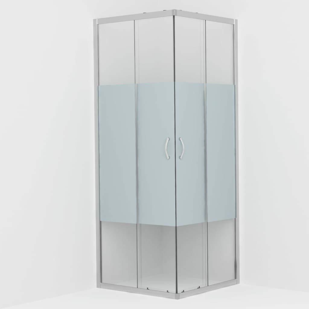 vidaXL Mampara de Ducha con Vidrio de Seguridad Ba/ño Fregadero Fontaner/ía Bricolaje Instalaci/ón Decoraci/ón Grifer/ía Sanitario Ba/ñera 70x70x185 cm