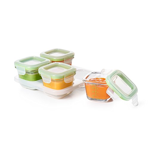 OXO Glass Blocks Storage Containers