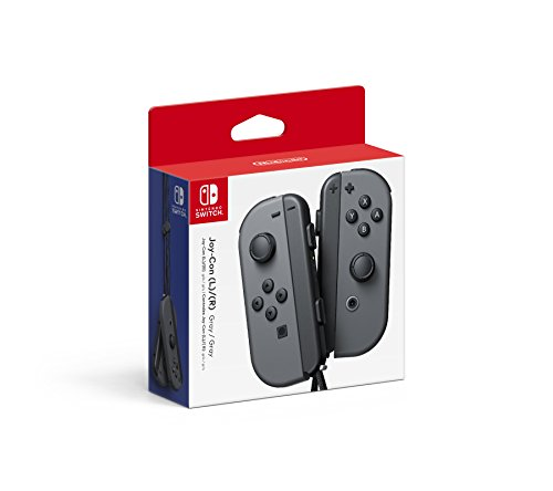 Nintendo Switch Joy-Con Controllers (L -R) - Grey