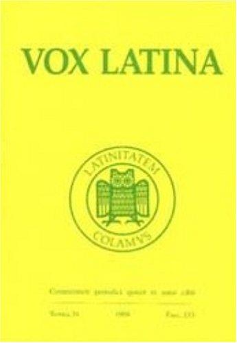 Vox Latina (General Grammar)