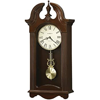 this item howard miller malia wall clock with westminster chime cherry finish quartz movement - Howard Miller Wall Clocks