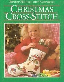 Better Homes and Gardens Christmas Cross-Stitch (And Better Gardens Stitch Cross Homes)