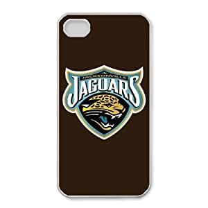 iphone4 4s Phone Case White Jacksonville Jaguars JGL607268