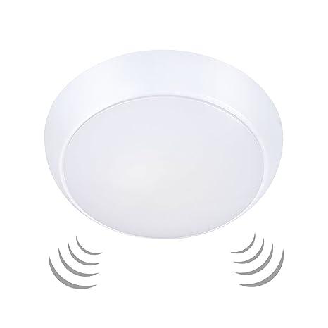 Ustellar 15W Motion Sensor LED Ceiling Lights Waterproof, 1200lm ...