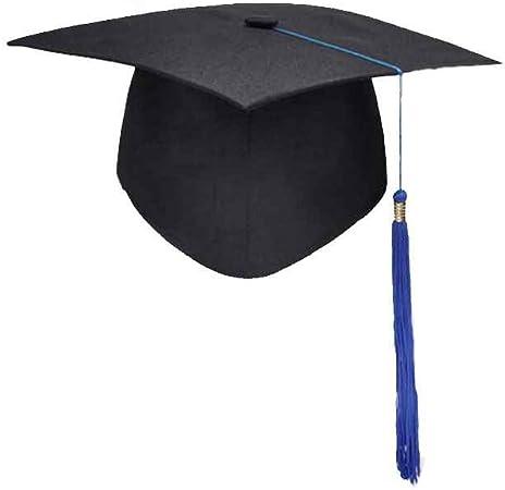 BoburyL DIPL/ÔME Glands Cap Universit/é Toque Bachelors Ma/ître Docteur Universitaire Chapeau