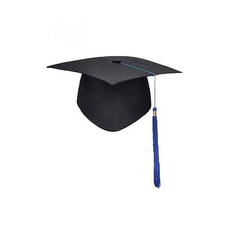 Gankmachine Graduación de Las borlas de la Universidad Cap Birrete Licenciatura Maestro Médico Académico Sombrero # 2