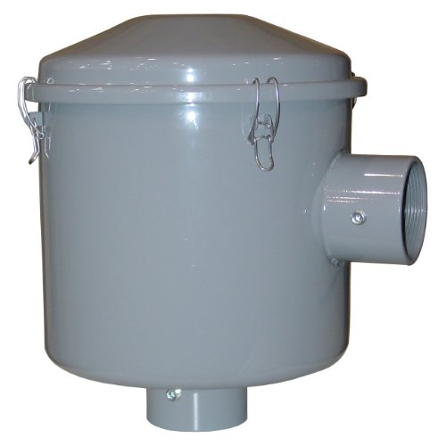 Solberg CSL-239-300C Inlet Filter, 3'' FPT Inlet/Outlet, 15-3/4'' Height, 13-1/4'' Diameter, 300 SCFM by Solberg