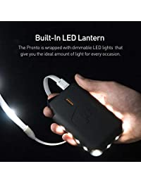 Power Práctico Pronto 12 V Power Bank con 2.4 A USB De Salida   Made For luminoodle Basecamp   3,35 Ah  12 V (equivalente a 10,050 mAh, 3,7 V) con linterna LED