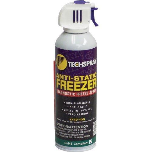Techspray 1747-10S 10 oz. Envi-Ro-Tech? Anti-Static Freeze Spray