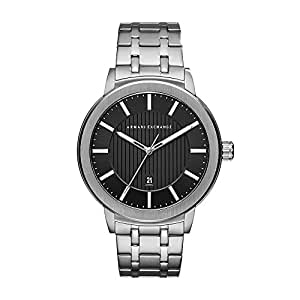 Armani Exchange Men's Street Silver Watch AX1455