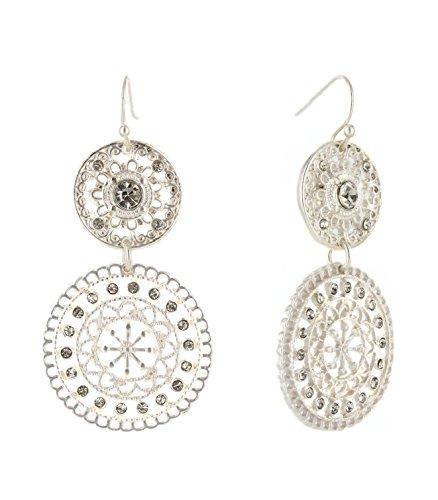 Tone Drop Fashion Earrings - 6