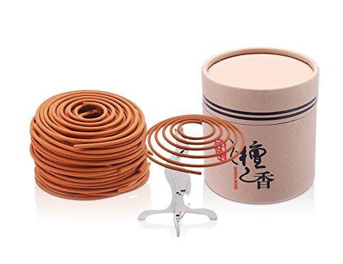 Sandalwood Coils Incense Sandalwood Incense for Incense Burner -