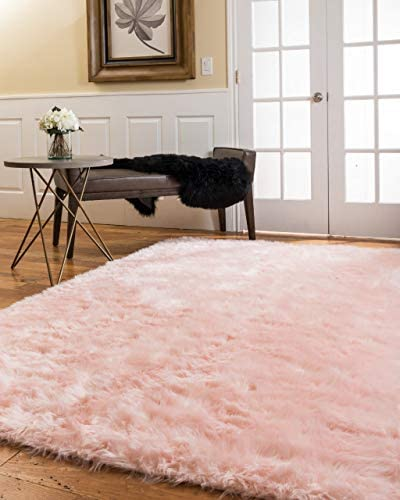 Natural Area Rugs Imitation Sheepskin Wool Emory Ultra Soft Fluffy Rug