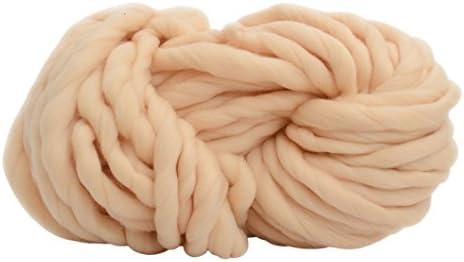 Ovillos de lana, hilo de algodón Super suave voluminosos brazo ...