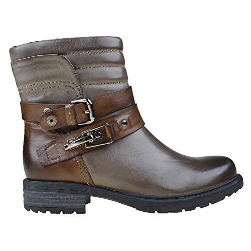 Calf Ankle Grey Storm Earth Pepperidge Women's Boot Leather E4CwnS6qn