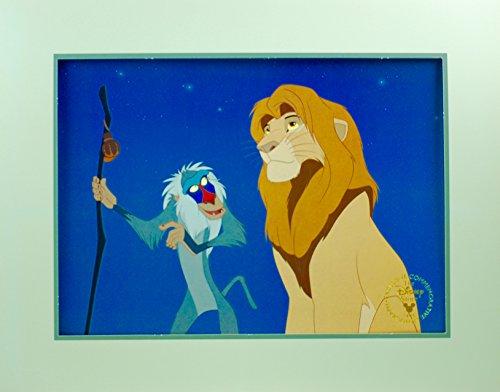 - Disney Art 1995 Lion King Exclusive Commemorative Lithograph Collectible
