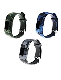 TenYun Replacement Wristband and straps With Secure Clasps for Garmin Vivofit 3 / Vivofit Jr. (No tracker, Replacement Bands Only)