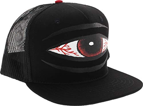 Toy Machine Bloodshot Sect Eye MESH HAT ADJ Black