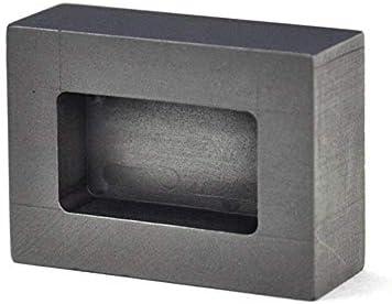 SOFIALXC Graphittiegel Gießen Schmelzbarren Form für Gold Silber Aluminium Metalle (6ML, 100g Gold/50g Silver)