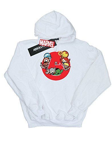 Ready À Steady Kawaii Avengers Blanc Capuche Garçon Sweat Marvel War aWnHtqF
