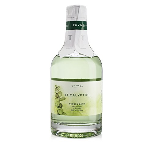 Thymes - Eucalyptus Bubble Bath - Relaxing Foam and Natural Eucalyptus Oil for Sensitive Skin - 11.5 -