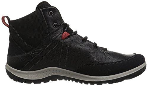 Black Chaussures Aspina Noir Ecco de Femme Randonnée 1001 Basses H0qS5wx
