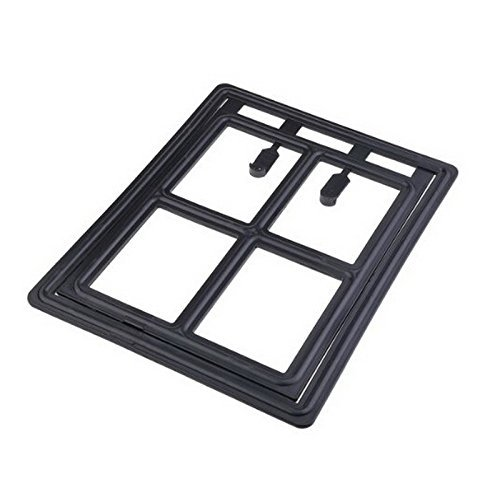Gold Wing Gate Way Pet Dog Cat Door for Screens(Size S)