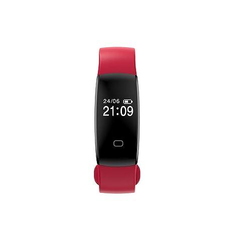 Cebbay Reloj Inteligente Pulsera Actividad Inteligente Impermeable IP67 Color Monitor de Frecuencia Rastreador de Fitness para
