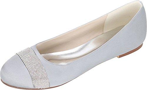Sandales Femme Find Argenté 5 Compensées EU Silver Nice 36 5nqxqtR