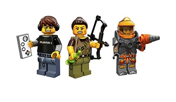Amazoncom Video Game Player Dinosaur Hunter Space Miner Lego