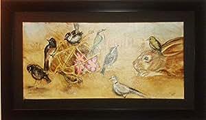 Desert Rose - Wall Art Canvas - Original Painting