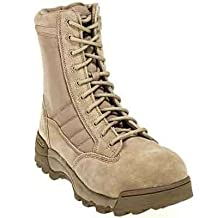 Original SWAT Boots Men's Composite toe Suede Leather Side Zip Boots 119402