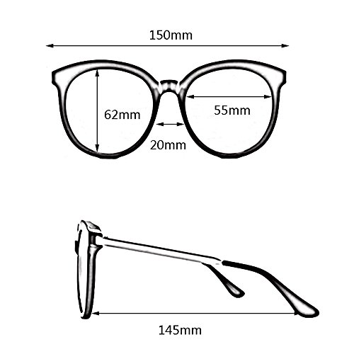 Driving Lady 100 Sunglasses B Gafas Fashion Sunglasses GYYTYJ sol SSSX D Polarized de Color UV400 TIxqwaCfz