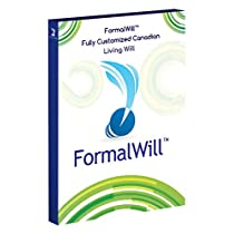 FormalWill™ Fully Customized Canadian Living Will Kit 2019