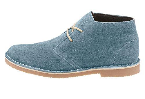 Eddie Bauer Damen-Schnürschuh, blau, Hellblau