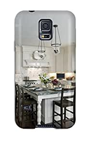 Cute High Quality Galaxy S5 Kitchen With White Cabinets Amp Large Island Case