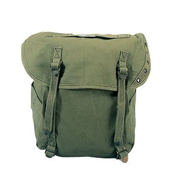 - Rothco GI Style Canvas Butt Pack, Olive Drab