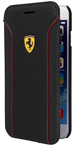 Ferrari Fiorano Booktype Hülle für Apple iPhone 6/6S schwarz