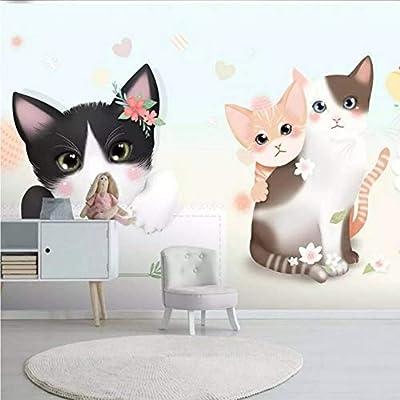 Tianxinbz Cute Animal Photo Wallpapers Cartoon Cat Wallpaper